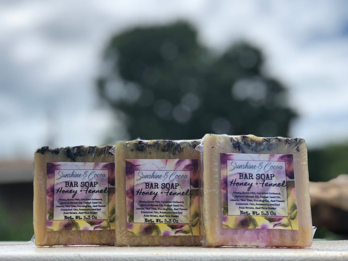 Honey + Fennel Soap Bar