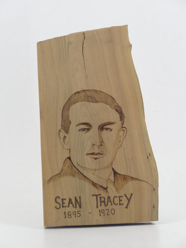 Wood Burning Sean Tracey Gift Craft