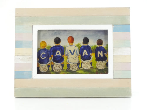 Cavan Kids - Framed Painting