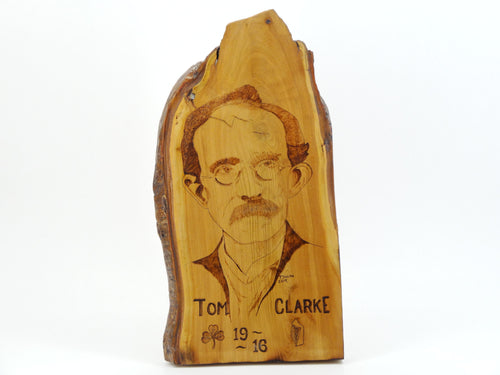 Wood Burning Tom Clarke Gift Craft