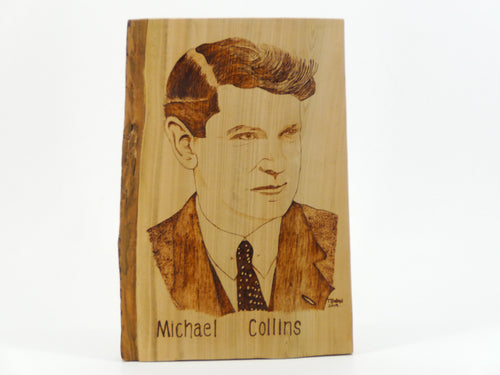 Wood Burning Michael Collins Gift Craft