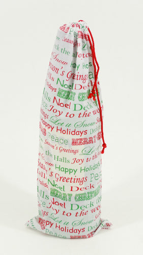 Fabric Bottle Holder Ideal Gift