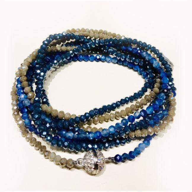 In2Design Bracelets Iselia Kyanite Bracelet/Necklace