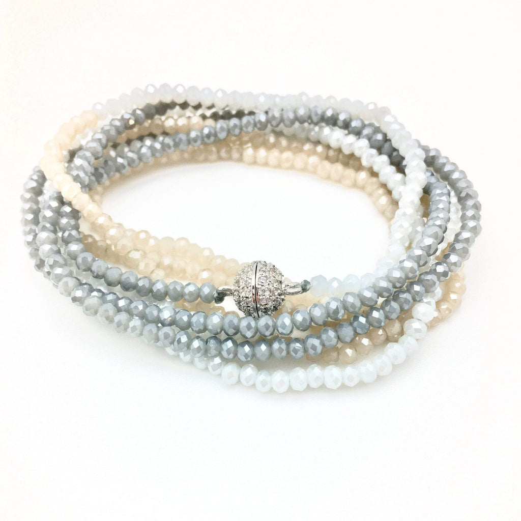 In2Design Bracelets Petra Aqua Denim Bracelet/Necklace