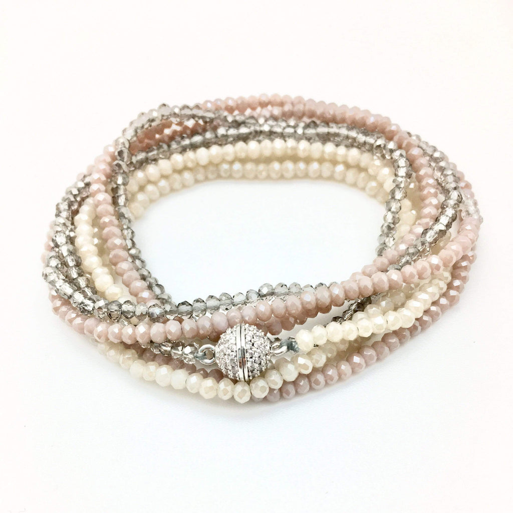 In2Design Bracelets Petra Neutral Rose Bracelet/Necklace