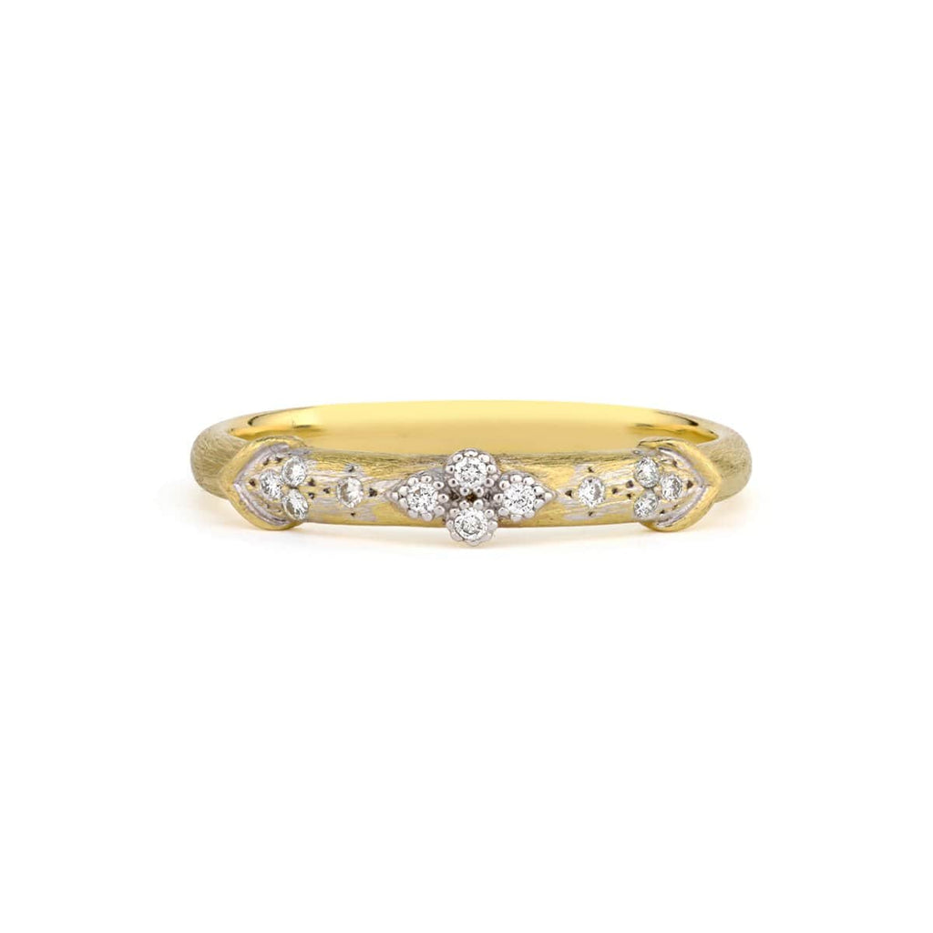 JudeFrances Rings 18K Gold Diamond Band