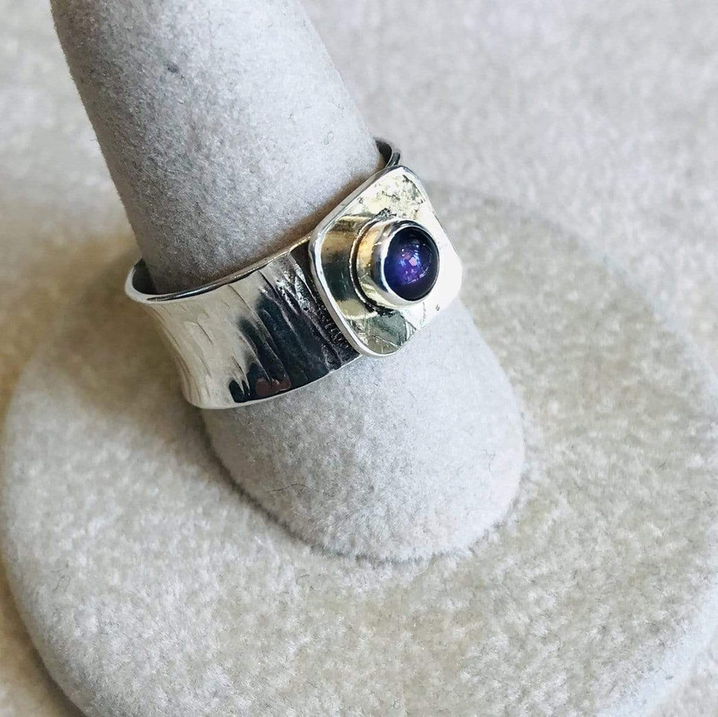 Phineas Rose Rings Amethyst, 18K & Sterling Ring