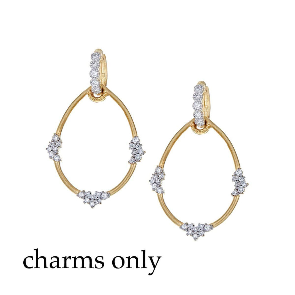 Tanya Farah Earring Charms Diamond 18K Earring Charms