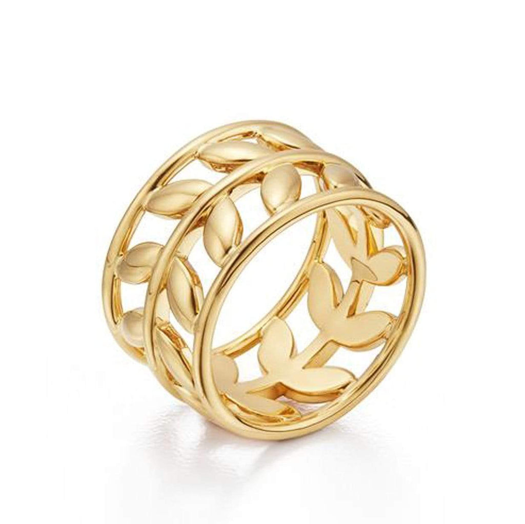 Temple St. Clair Rings 18K Vine Ring
