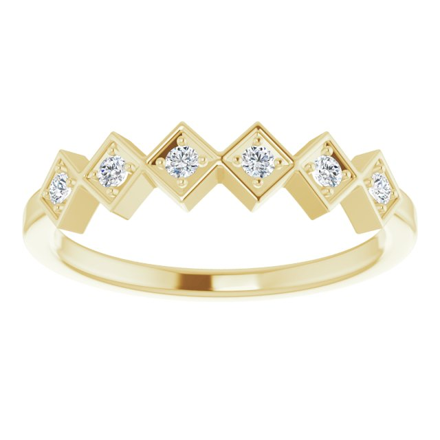 Geo Stackable Ring