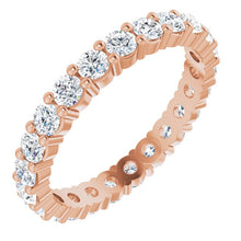 Load image into Gallery viewer, Classic Diamond Eternity Band in 18K