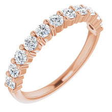 Load image into Gallery viewer, Classic Diamond Wedding Band in 18K Gold