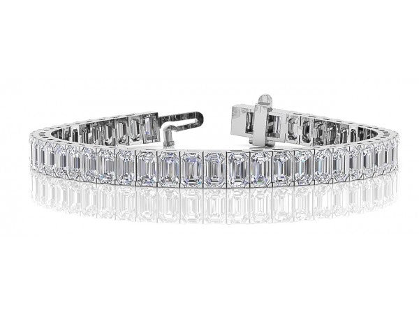 Fancy Shape Diamond Tennis Bracelet