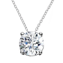 Load image into Gallery viewer, Floating Diamond Pendant