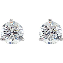 Load image into Gallery viewer, Classic Round Diamond Studs