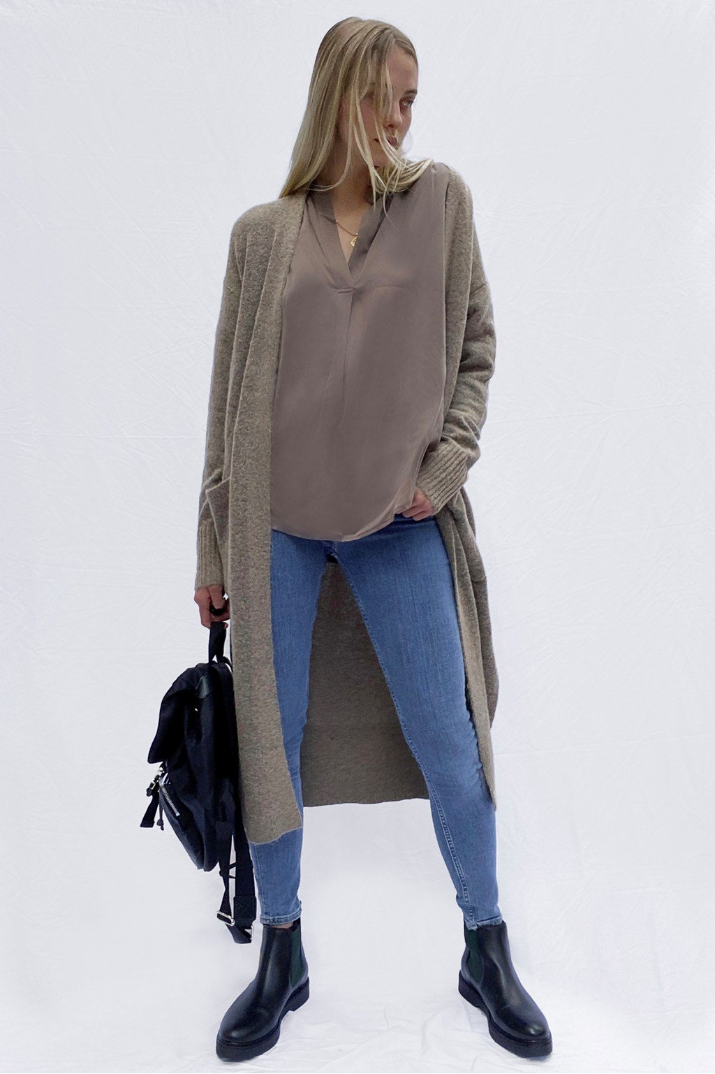 French Connection JESSA longline knit cardigan