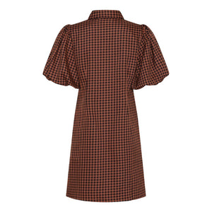 A-View Lona Puff Sleeve Dress