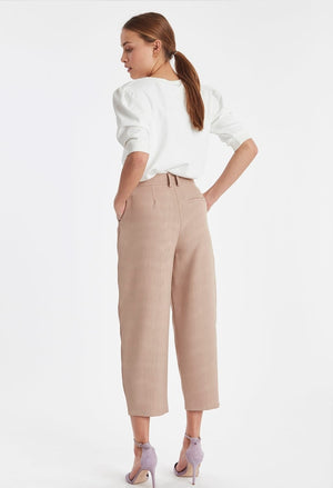Ichi Casual High Waist Trousers
