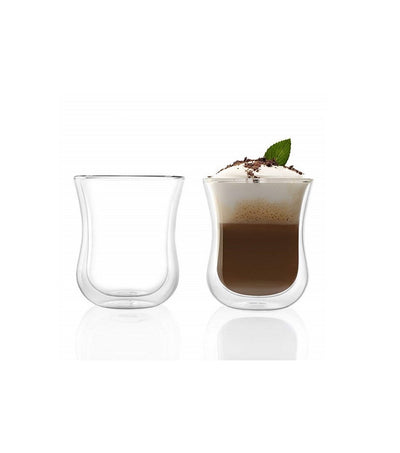 Small Double Walled Thermal Glass Set - Craft Beans