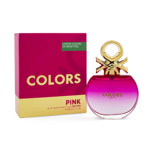 BENETTON  -  COLORS PINK