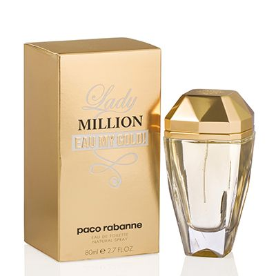 PACO RABANNE  -  LADY MILLION EAU MY GOLD!
