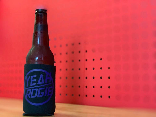 Yeah Rogie - Purple Stubby Cooler