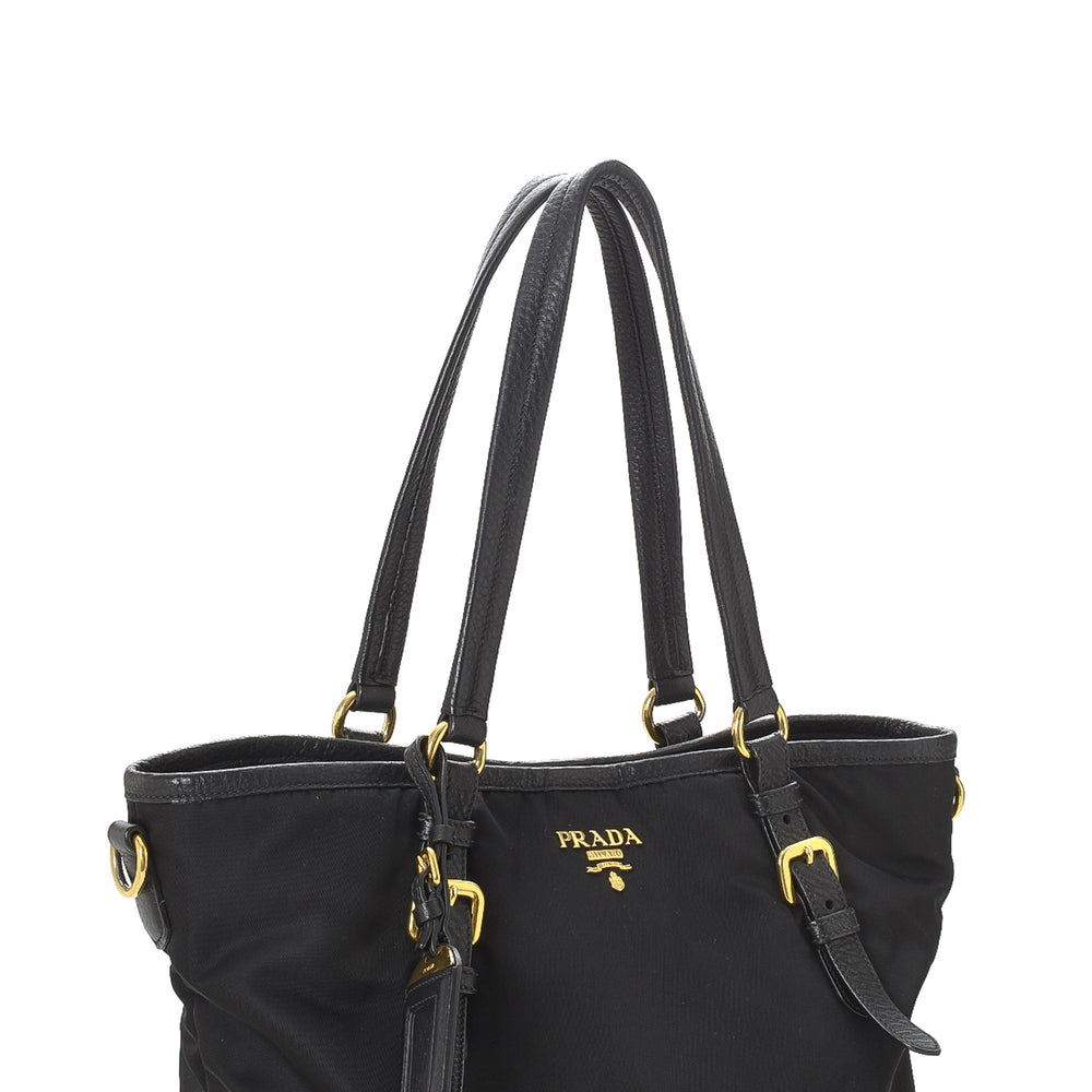 Prada - Tessuto Two Way Tote Bag - 15501330743378