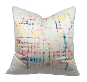 "COCO CREAM 22""x22"" DESIGNER PILLOW - nicolettemayer.shop"