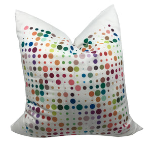 "MOD CONFETTI MODERN ACCENT THROW PILLOW 22""x22"" - nicolettemayer.shop"
