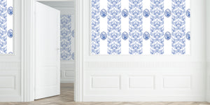 Imperial White Wallpaper - nicolettemayer.shop