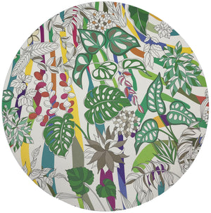 "SABI JUNGLE NATURAL 16"" ROUND PEBBLE PLACEMATS, SET OF 4 - nicolettemayer.shop"