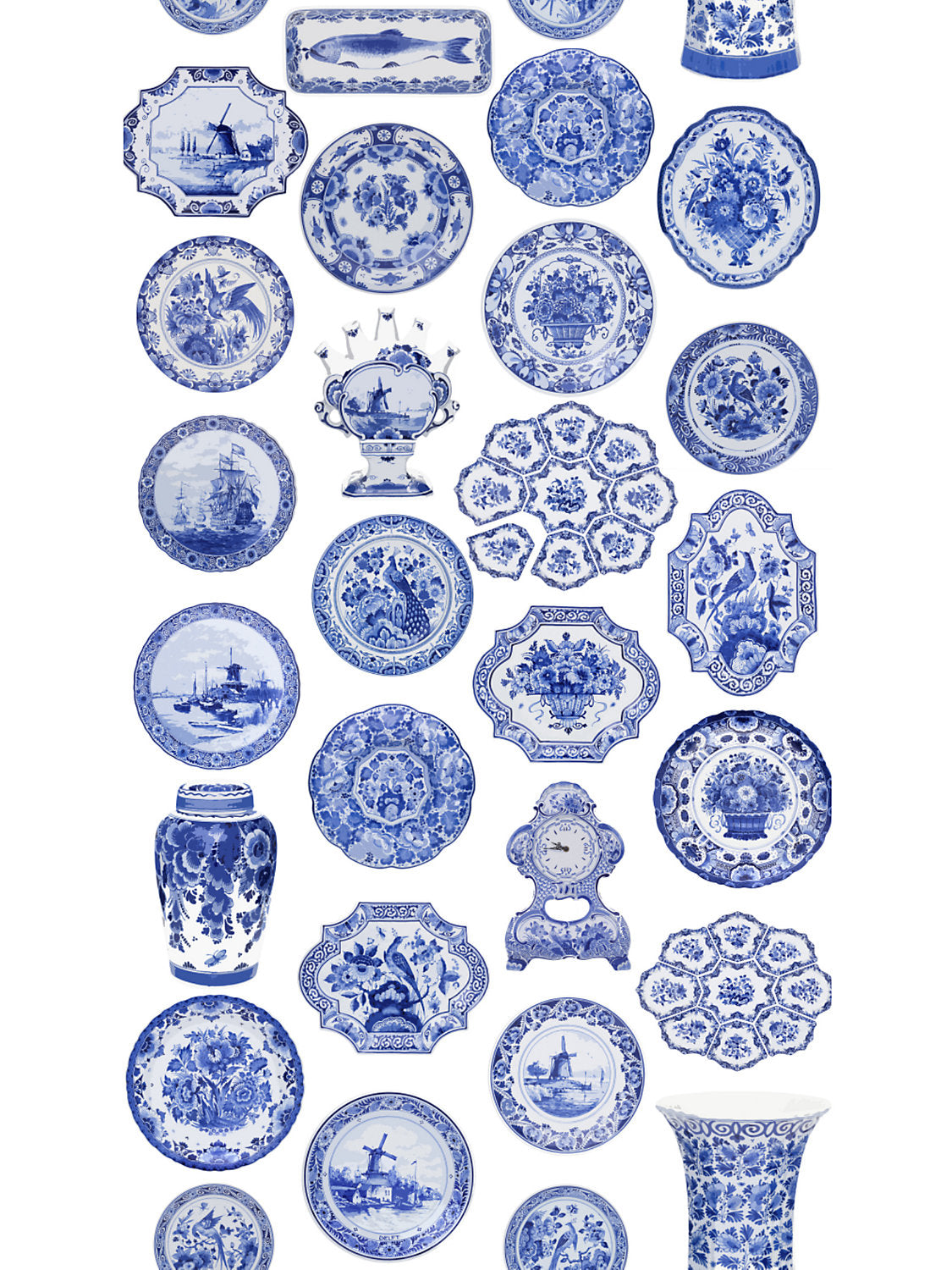 Collections Blue Wallpaper - nicolettemayer.shop
