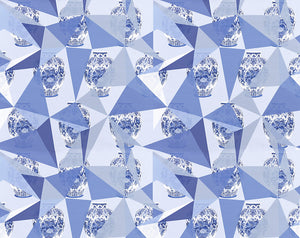 Elements Blue Wallpaper - nicolettemayer.shop