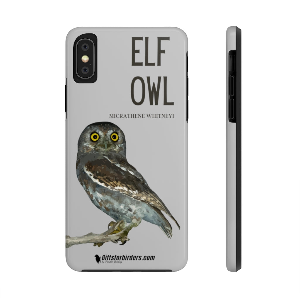 iPhone Case for Birdwatchers - Elf Owl iPhone Case - phone case for birders