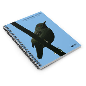 Notebook for Birdwatchers- Esmeraldas Antbird (Blue) Notebook