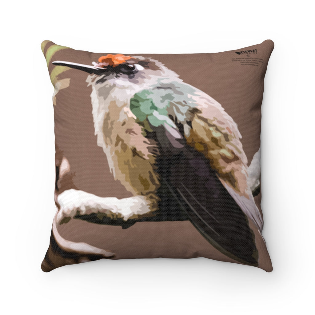 Birding Home Decor  Cushions - Santa Marta Blossomcrown Cushion