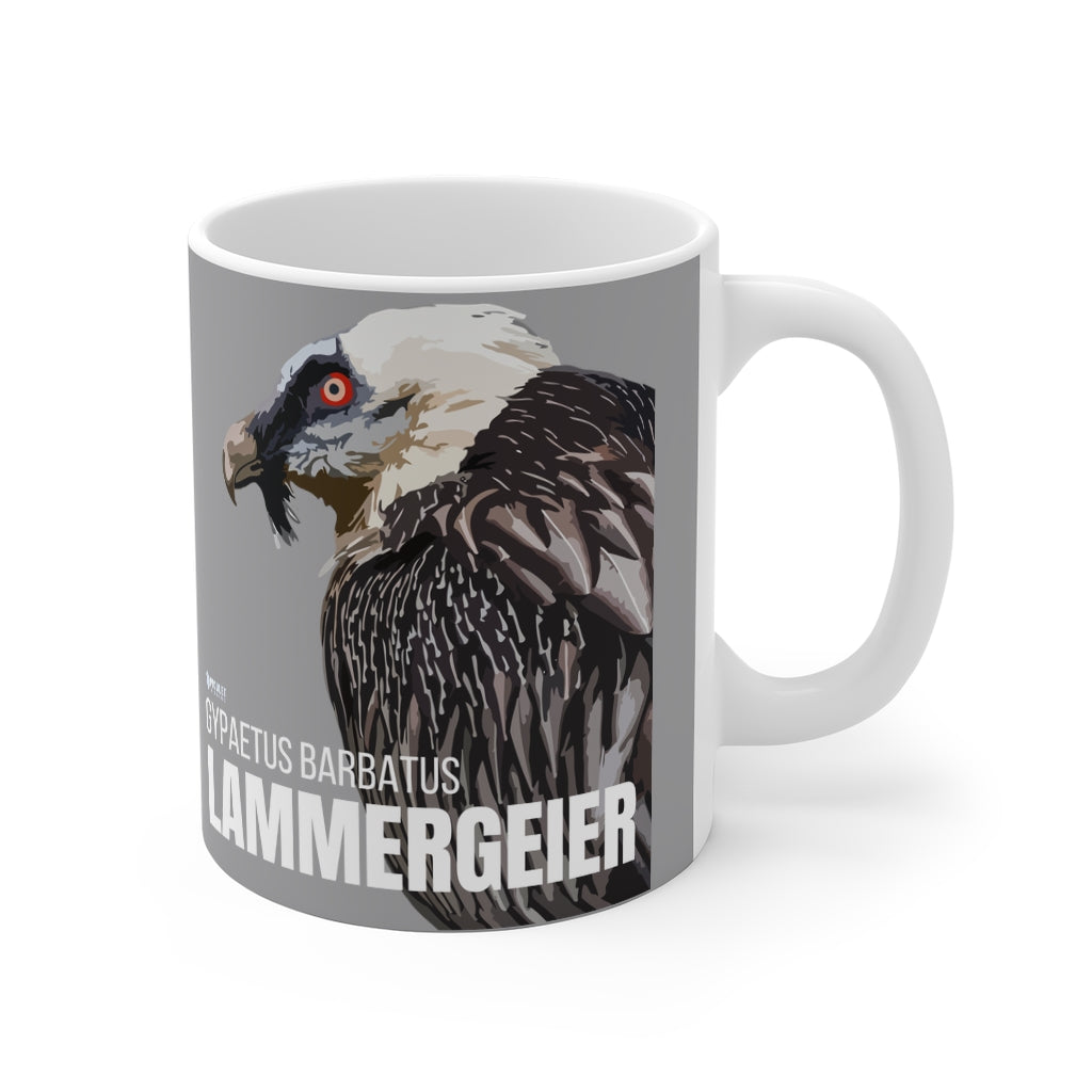 UK/Europe Coffee Birding Mug - Lammergeir-Mug for Birdwatchers