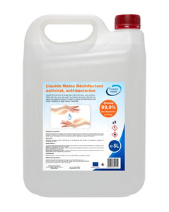 Proways Health - Liquide mains désinfectant - Désinfection Rapide