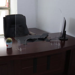 Barrière De Protection transparente en Polycarbonate - Désinfection Rapide