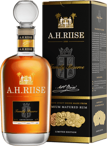 A.H. RIISE RUM FAMILY RESERVE SOLERA 70CL