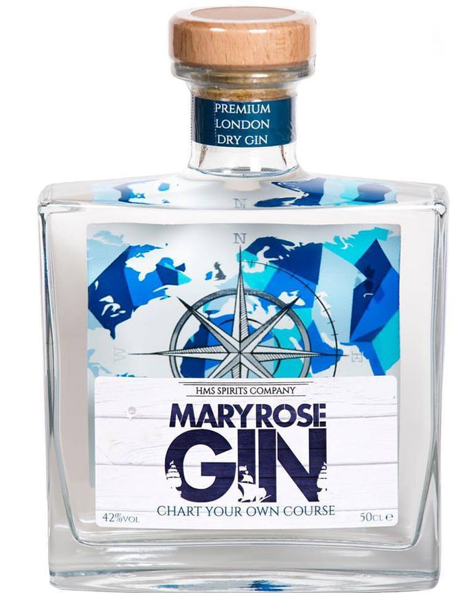 MARY ROSE LONDON DRY GIN 50CL