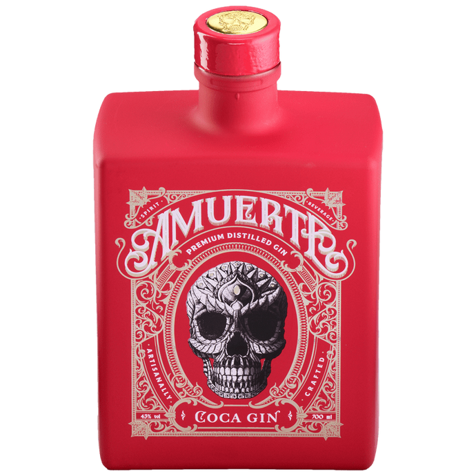 AMUERTE GIN RED EDITION 70CL