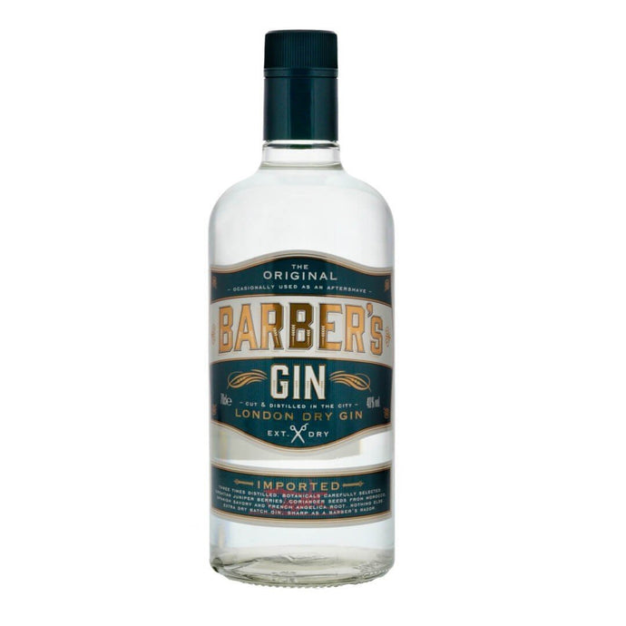 BARBER'S LONDON DRY GIN 70CL