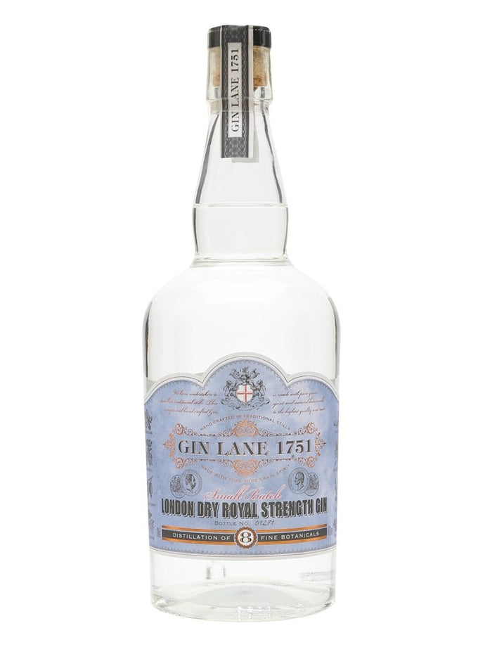 GIN LANE 1751 ROYAL STRENGHT GIN 70CL