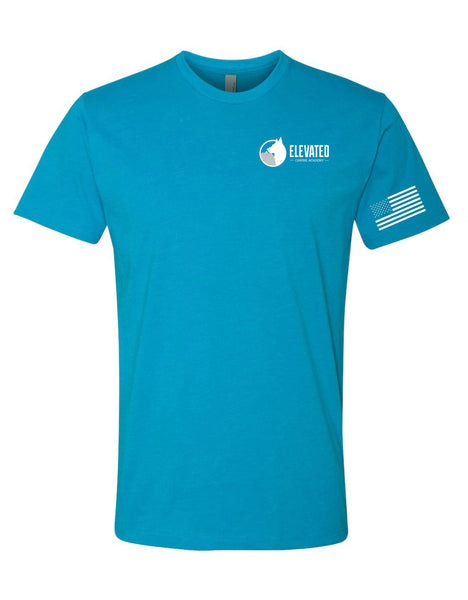 Elevated Canine Turquoise T-Shirt