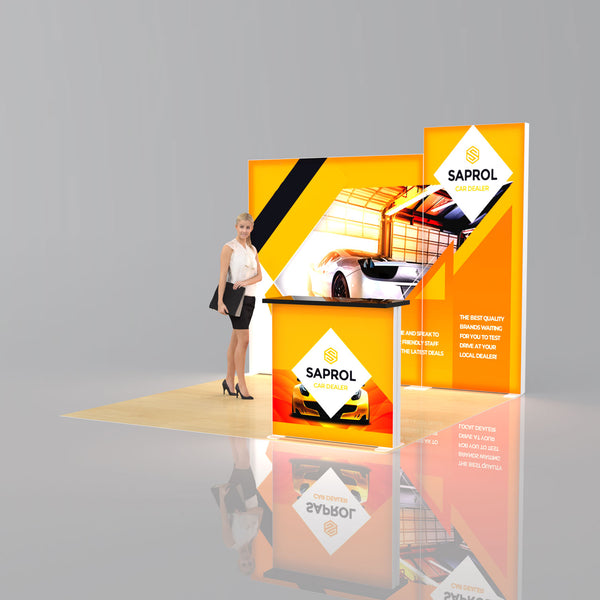Lumi SEG Light Box Package 3 - 3 x 3m