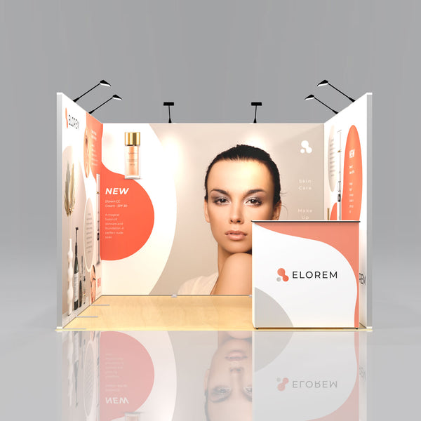 Express SEG Display Stand Package 1 - 3 x 3m