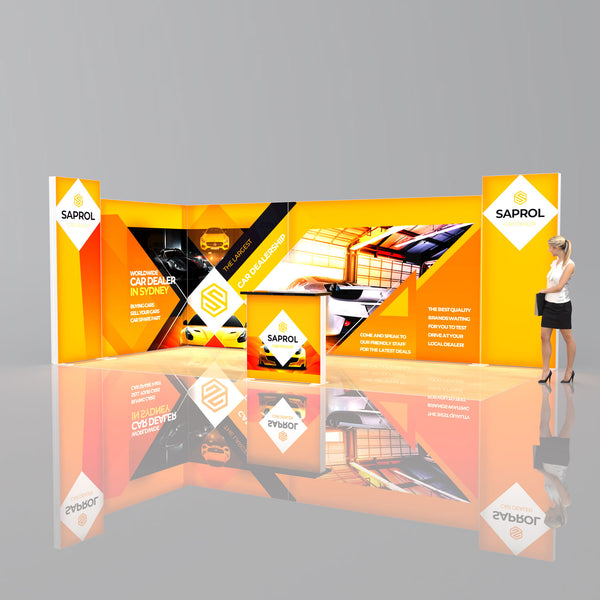 Lumi SEG Light Box Package 3 - 6 x 3m