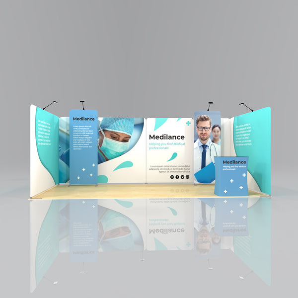 Signal Media Wall Package 2 - 6 x 3m