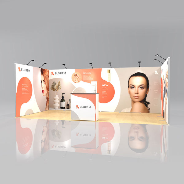 Express SEG Display Stand Package 1 - 6 x 3m